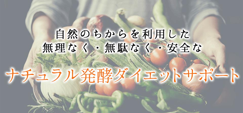 ナチュラル発酵ダイエットサポート
