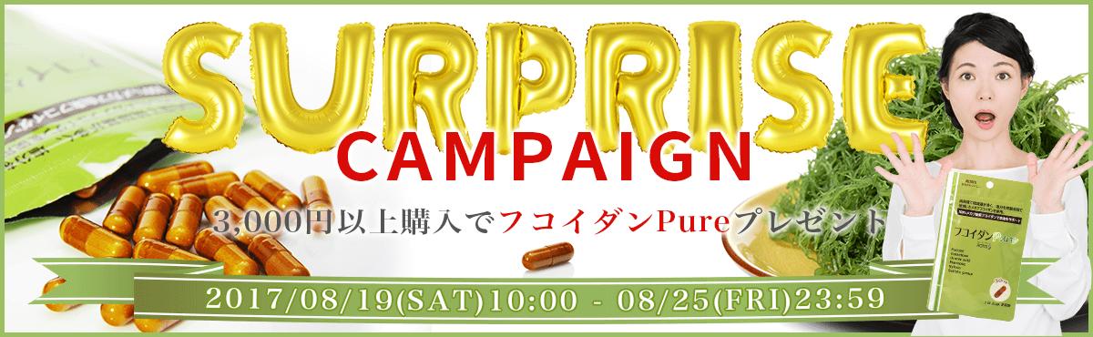 サプライズキャンペーン